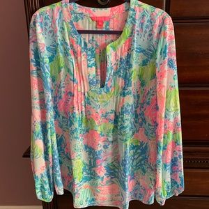 Lilly Pulitzer Colby Top NWOT